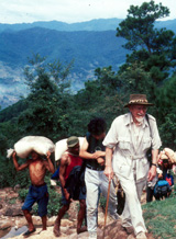 Desmond in Yunnan Province, Southern China, 1991