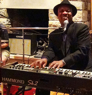 Dr. Booker T. Jones playing the SAI Hammond organ.