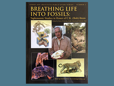 Book cover image for Breathing Life Into Fossils