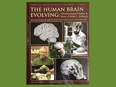 Book cover image for The HUman Brain Evolving
