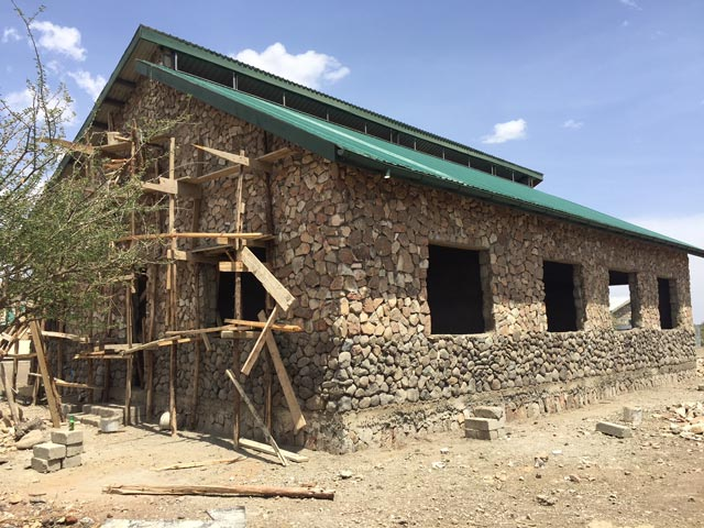 New Olduvai Lab construction