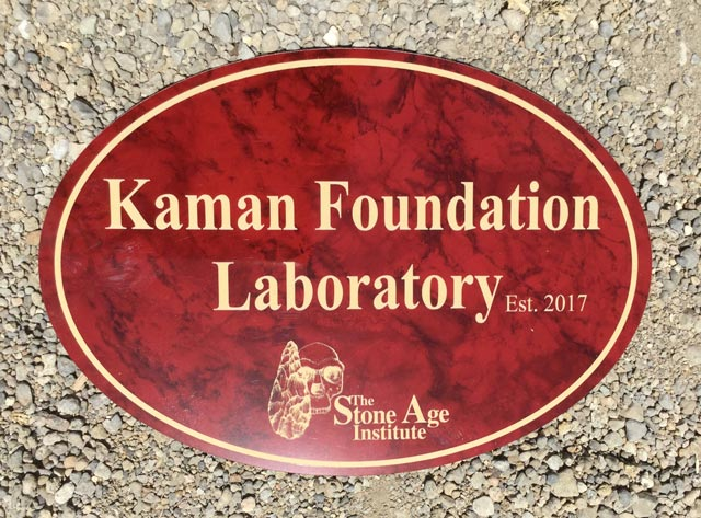 Plaque for Kaman Foundation Lab