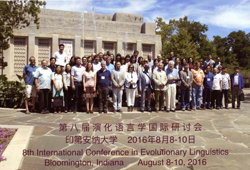 2016 Linguistic Evolution Conference Group
