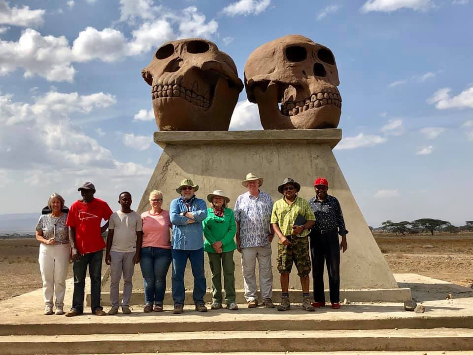 Educational Sculptures at Olduvai Gorge