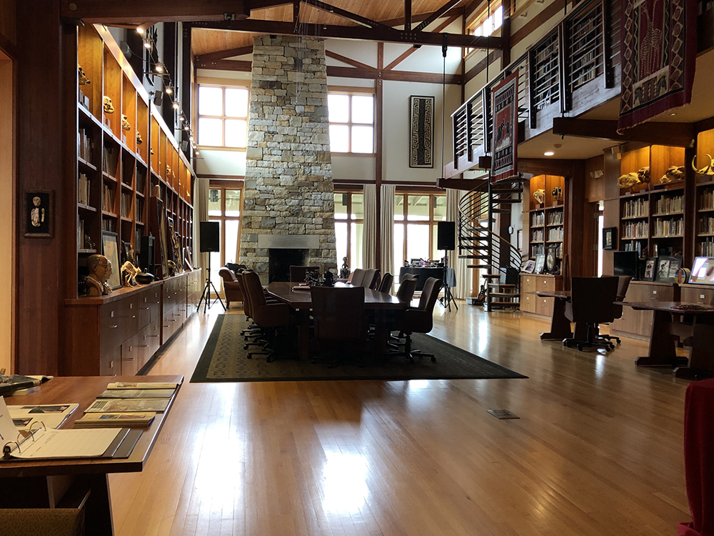 Stone Age Institute Library