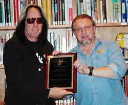 Todd Rundgren receives Craftsmanship Award.